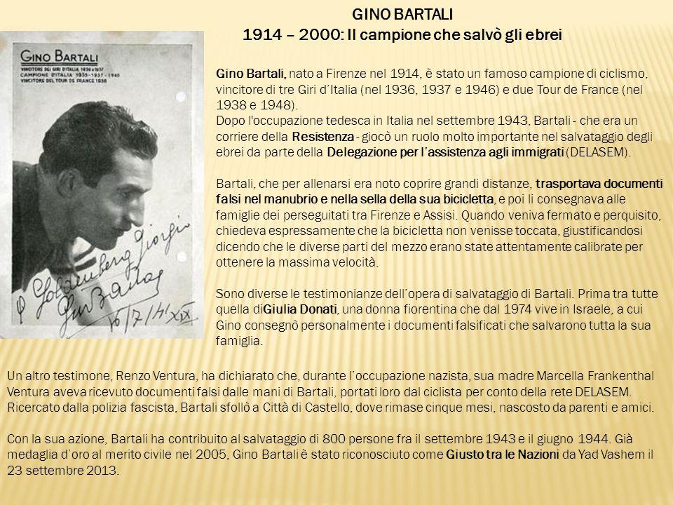 1914 – 2000: Il campione che salvò gli ebrei
