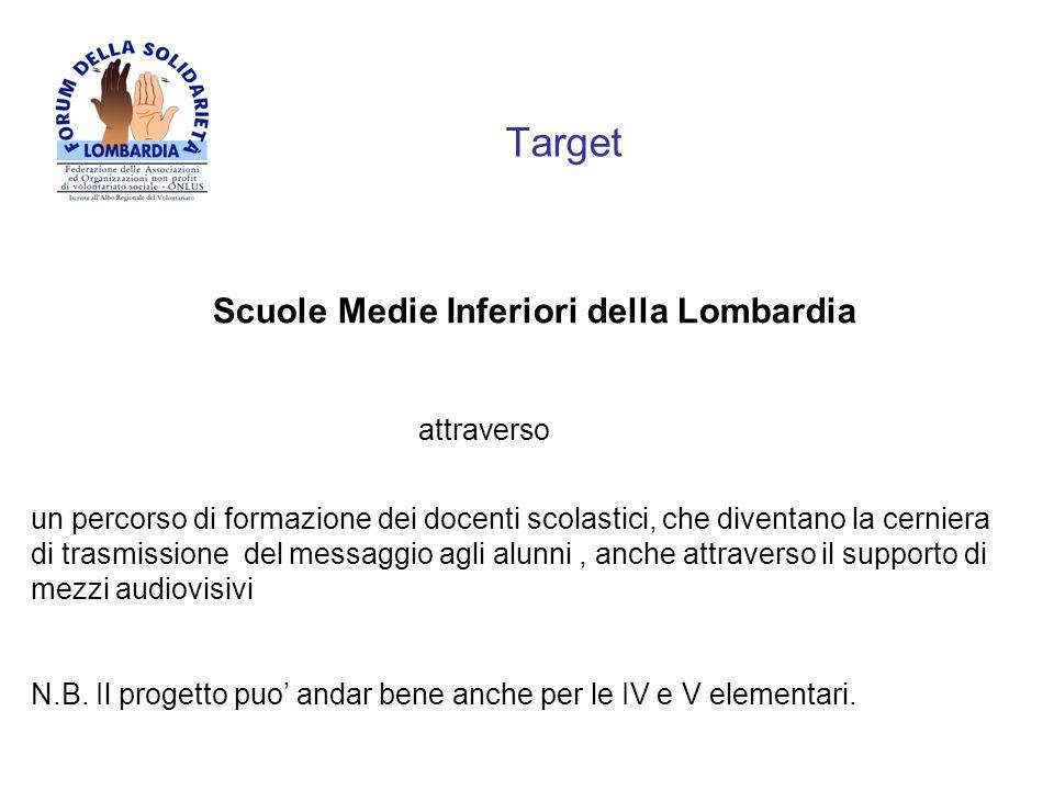 TargetScuole Medie Inferiori della Lombardia. attraverso.