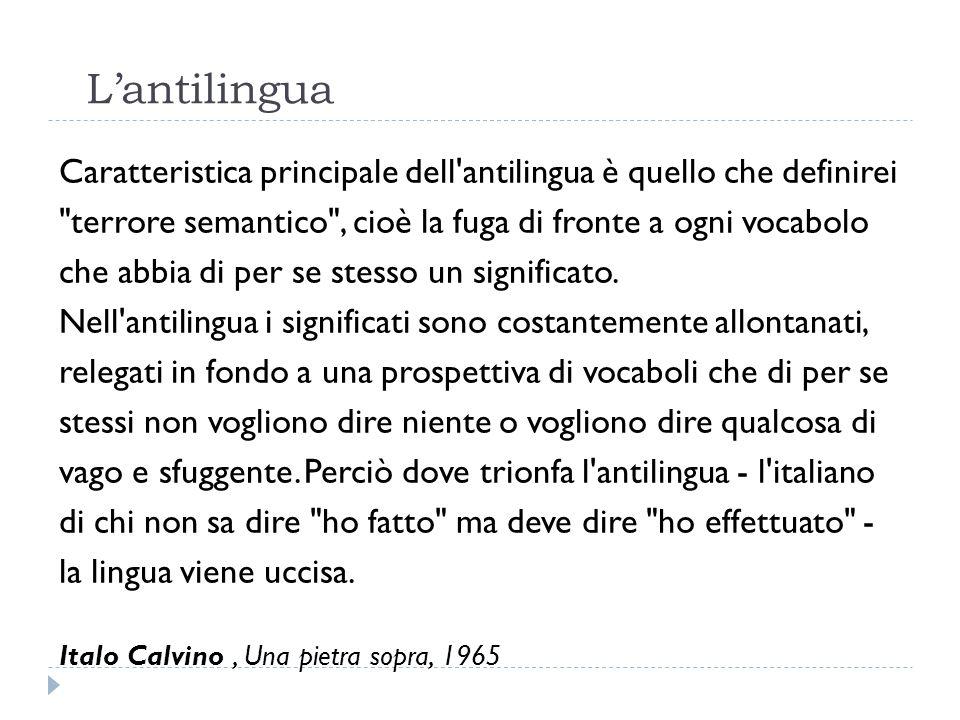 L'antilingua