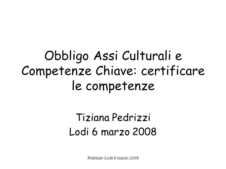 Obbligo Assi Culturali e Competenze Chiave: certificare le competenze