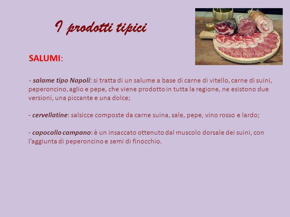 I prodotti tipici SALUMI: