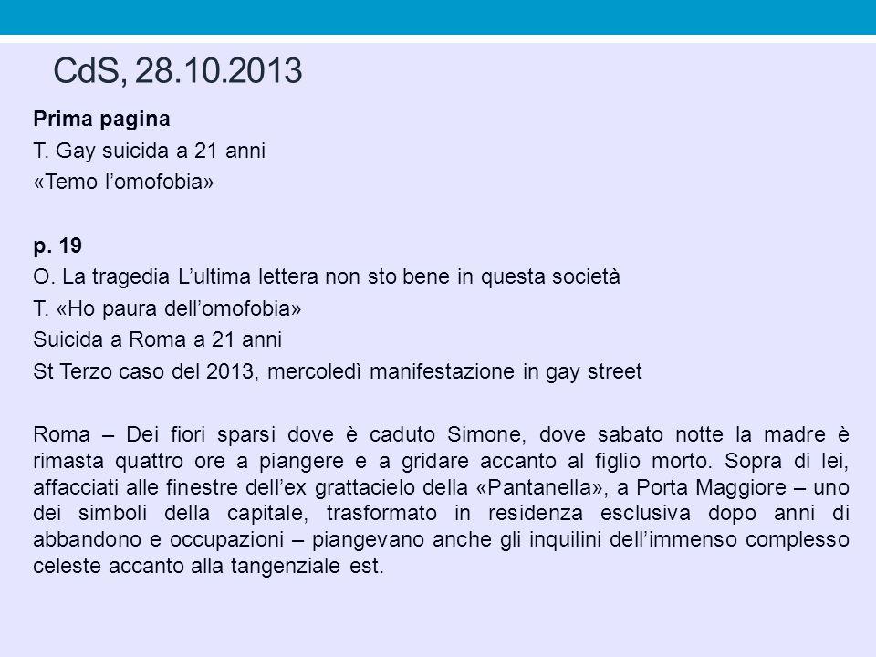 CdS, 28.10.2013