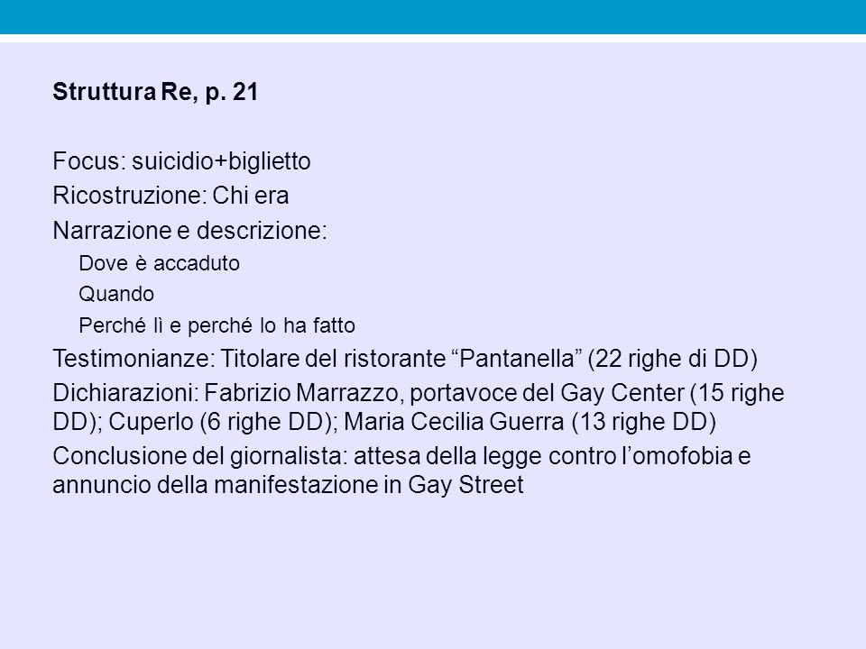 Focus: suicidio+biglietto Ricostruzione: Chi era