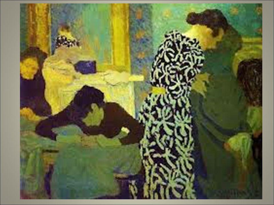 Vouillard. Sono considerati i precursori dell'art nouveau per il senso decorativo