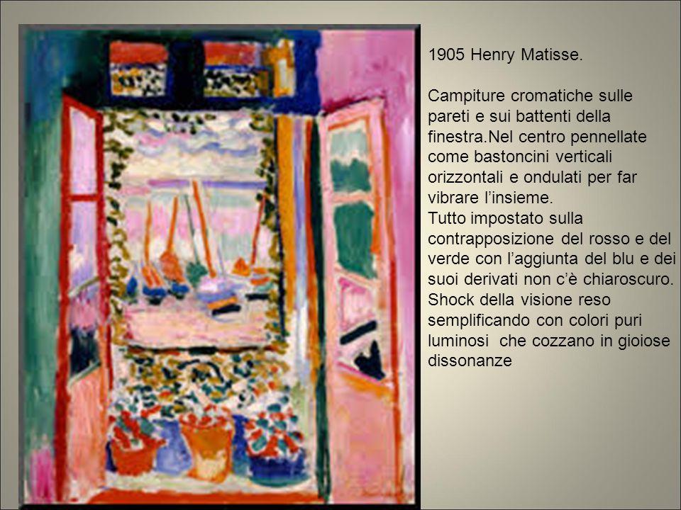 1905 Henry Matisse.