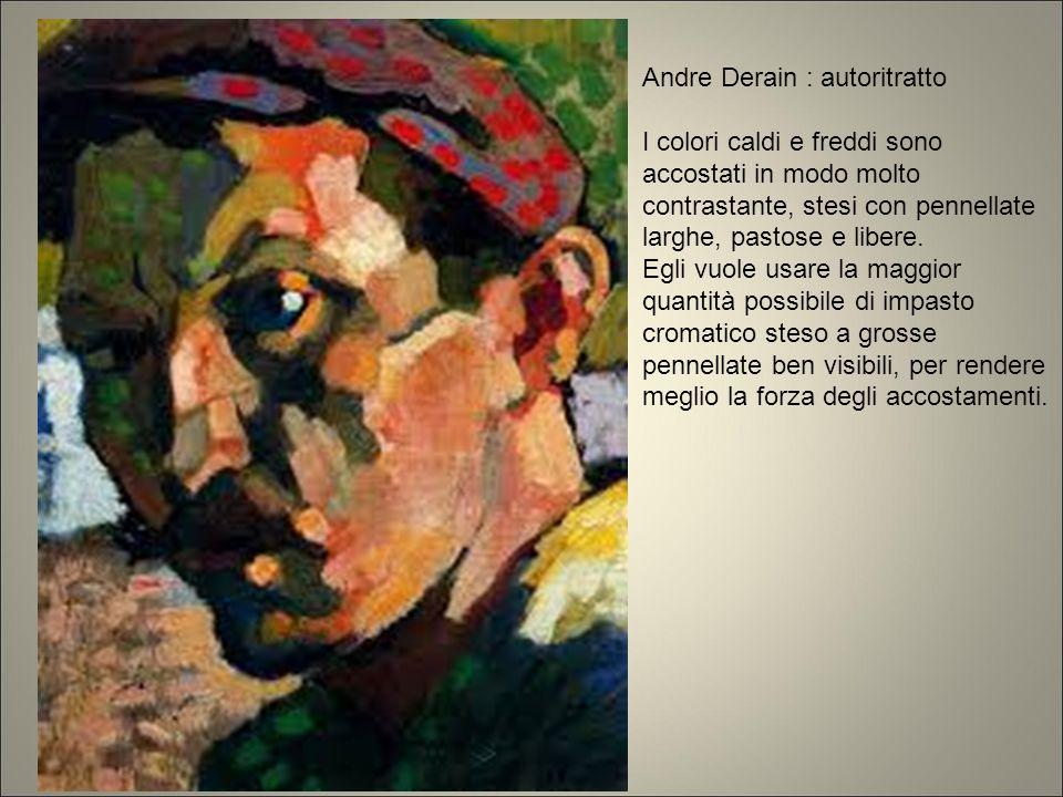 Andre Derain : autoritratto