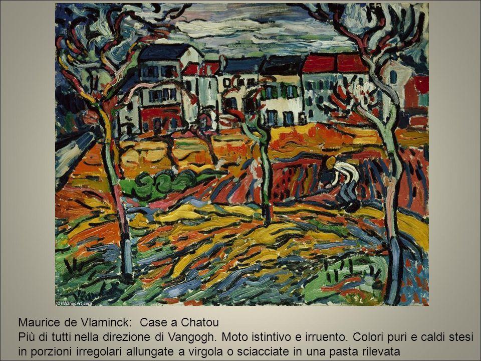 Maurice de Vlaminck: Case a Chatou