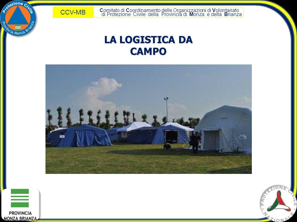 LA LOGISTICA DA CAMPO