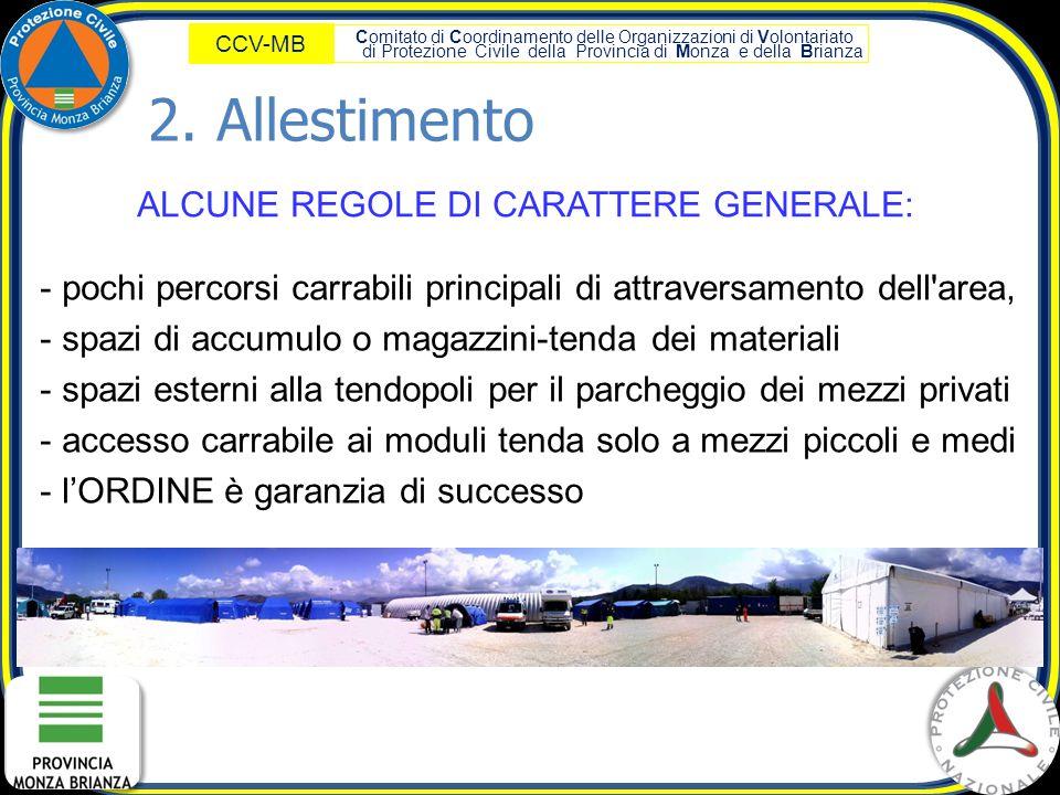 ALCUNE REGOLE DI CARATTERE GENERALE: