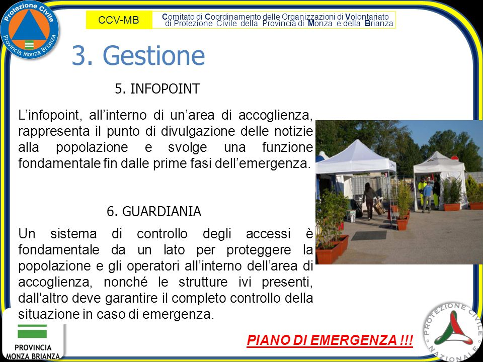 3. Gestione 5. INFOPOINT.