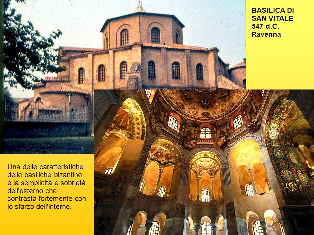 BASILICA DI SAN VITALE 547 d.C. Ravenna.