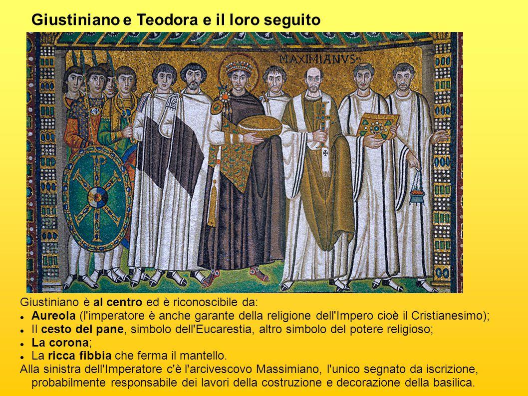 Giustiniano e Teodora e il loro seguito
