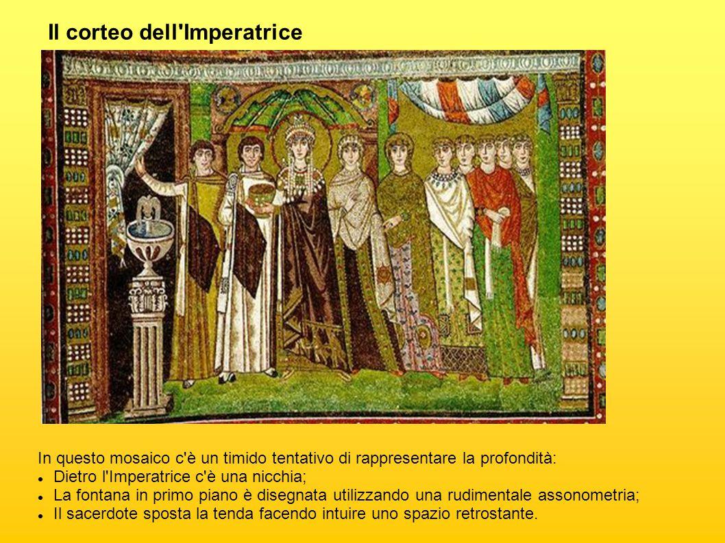 Il corteo dell Imperatrice
