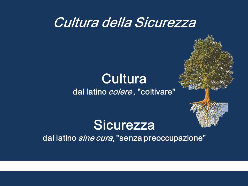 Cultura della Sicurezza Cultura Sicurezza