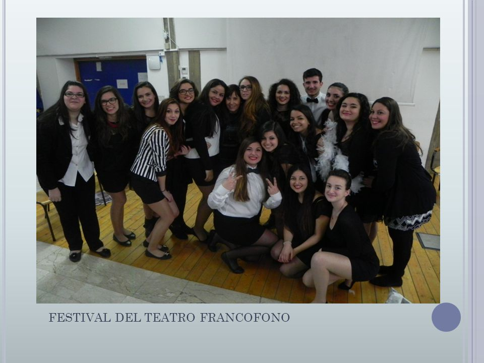 FESTIVAL DEL TEATRO FRANCOFONO