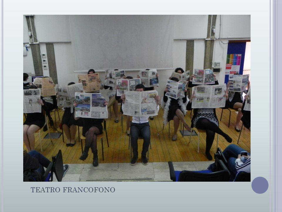 TEATRO FRANCOFONO