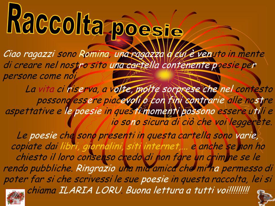 Raccolta poesie