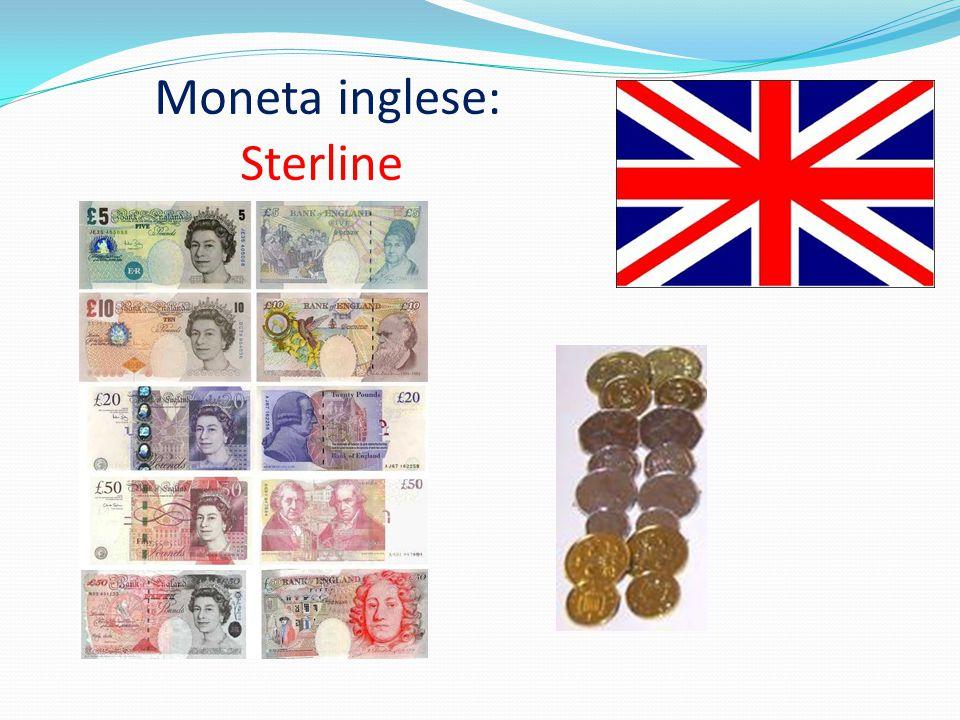 Moneta inglese: Sterline