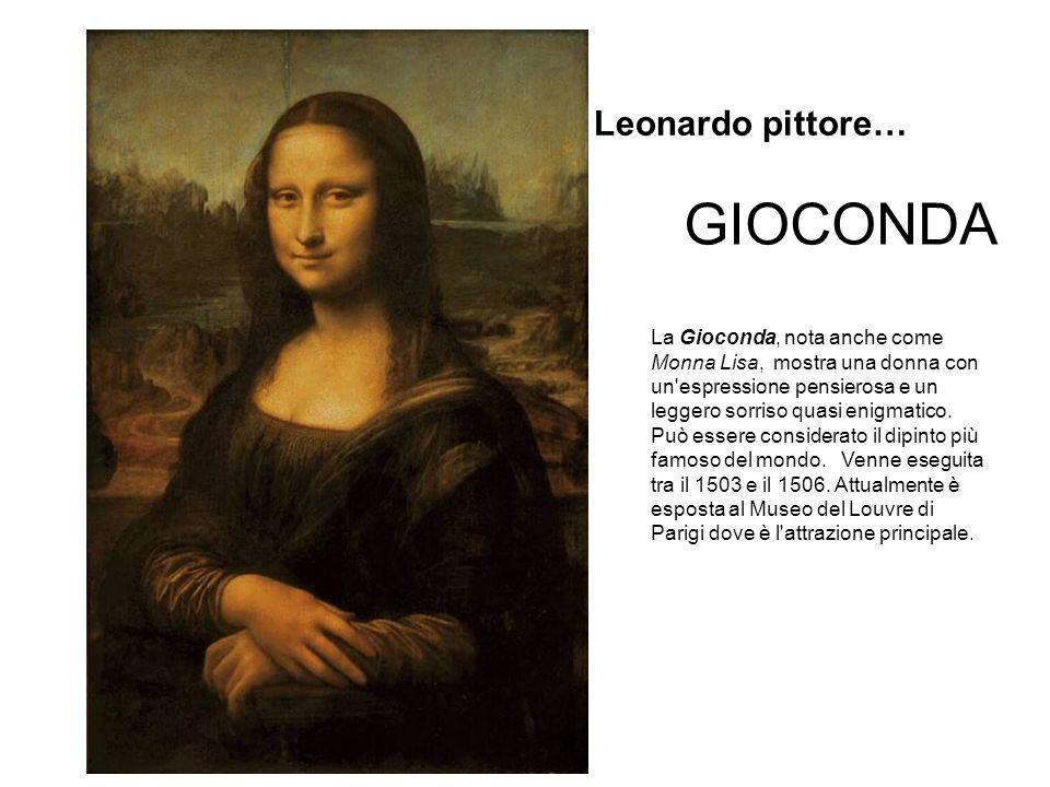 GIOCONDA Leonardo pittore…