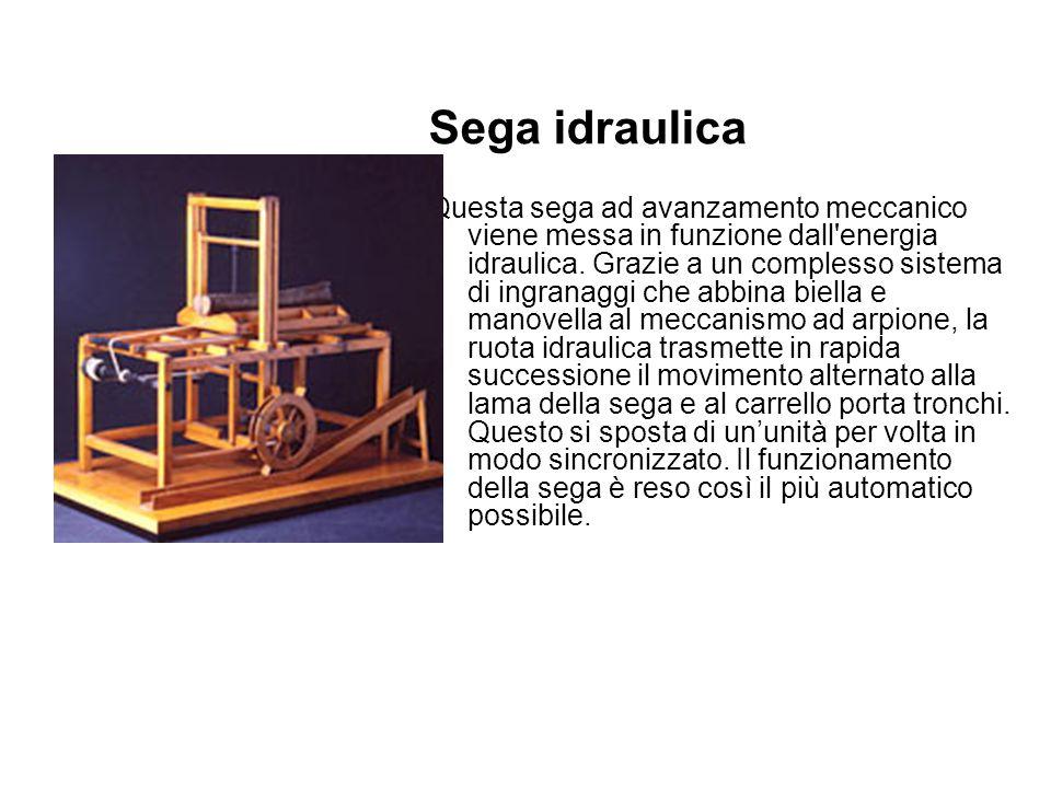 Sega idraulica