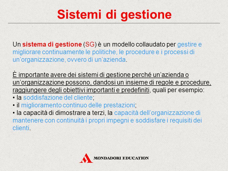 Sistemi di gestione
