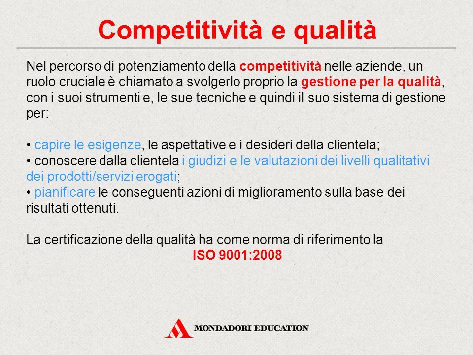 Competitività e qualità