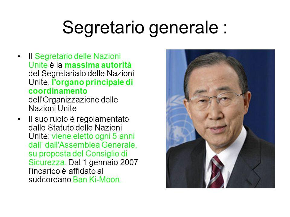 Segretario generale :