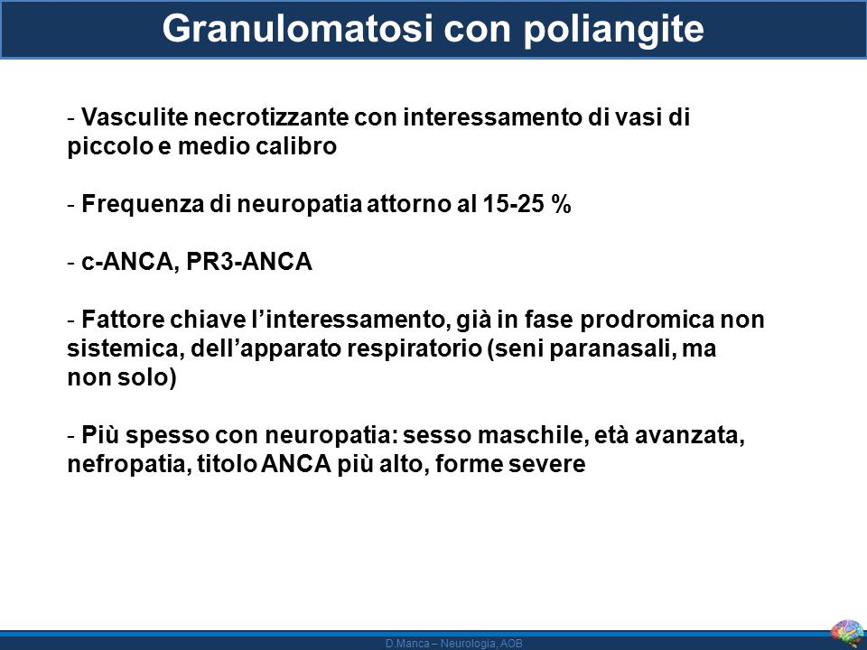 Granulomatosi con poliangite