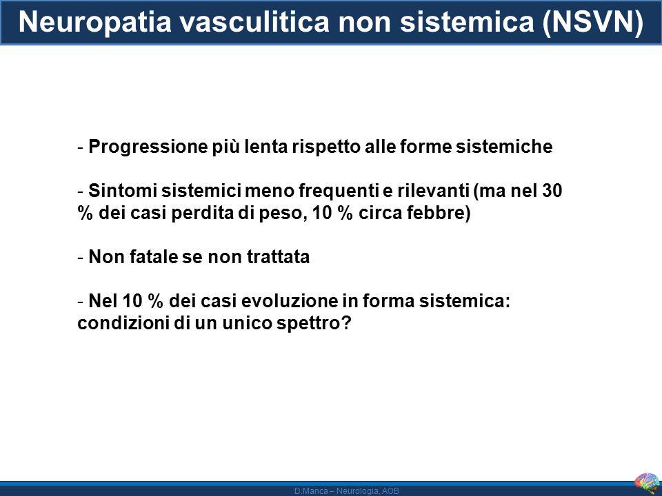 Neuropatia vasculitica non sistemica (NSVN)