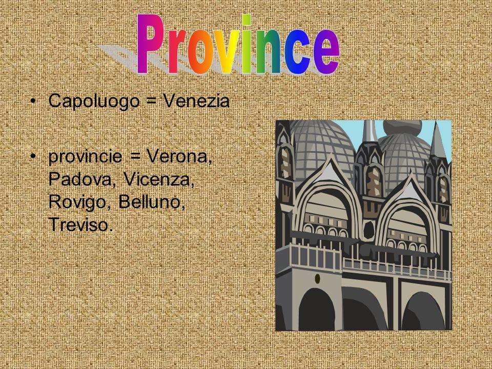 Province Capoluogo = Venezia