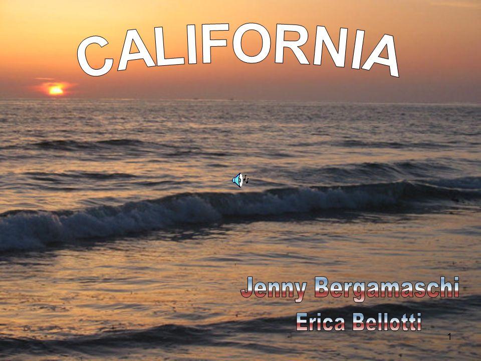 CALIFORNIA Jenny Bergamaschi Erica Bellotti