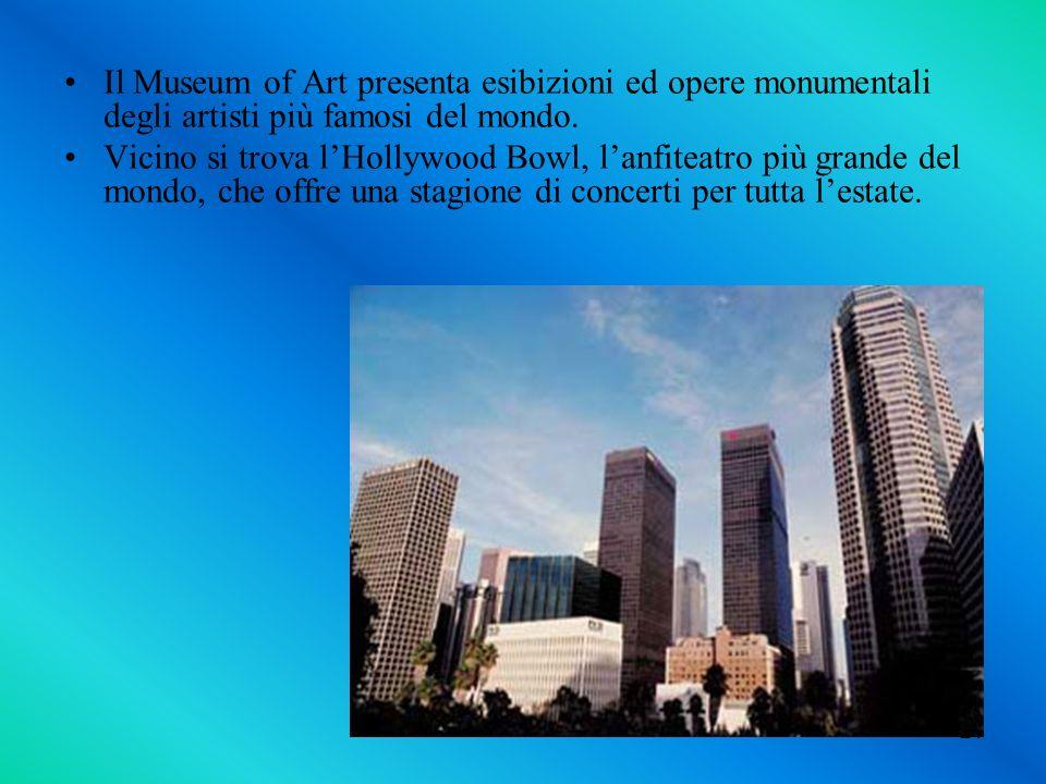 Il Museum of Art presenta esibizioni ed opere monumentali degli artisti più famosi del mondo.