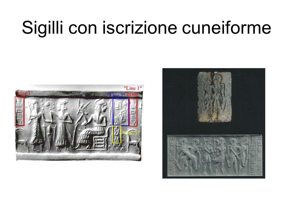 Sigilli con iscrizione cuneiforme