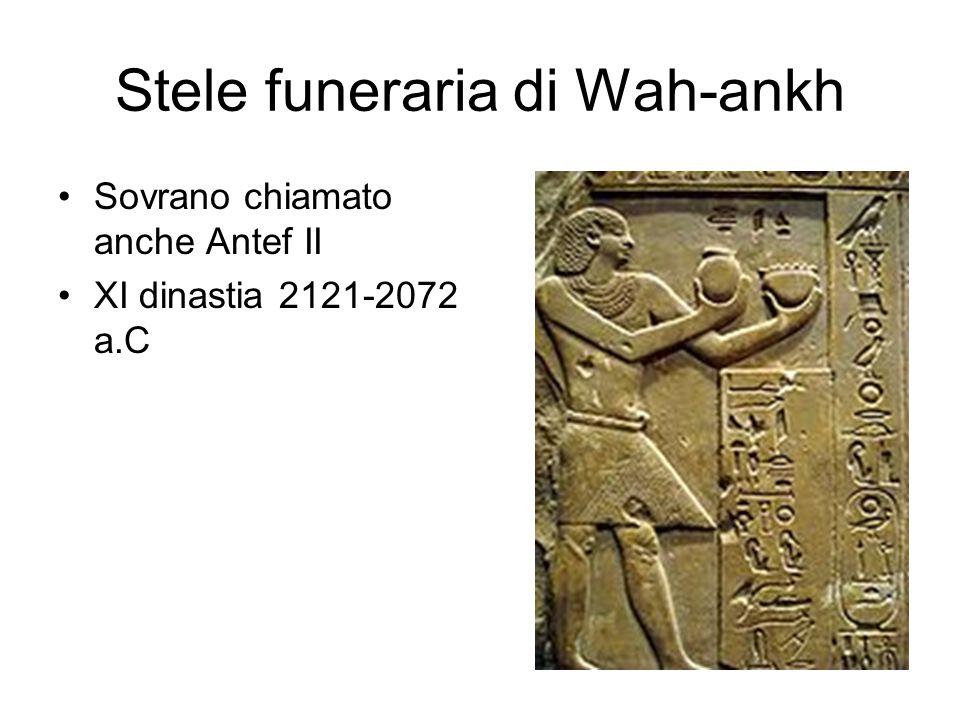 Stele funeraria di Wah-ankh