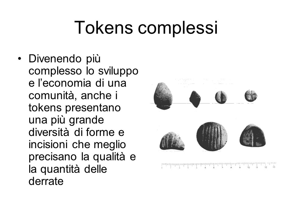Tokens complessi