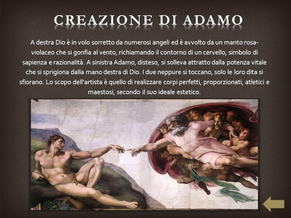 creazione di adamo