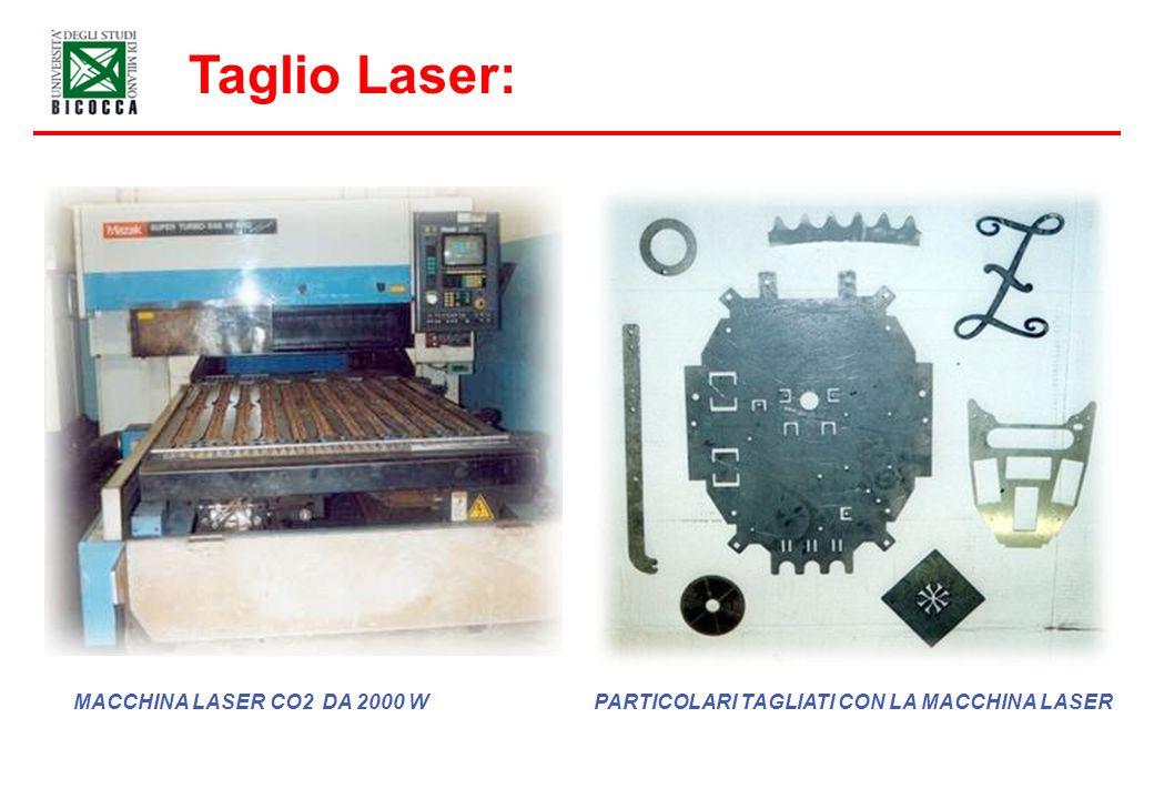Taglio Laser: MACCHINA LASER CO2 DA 2000 W