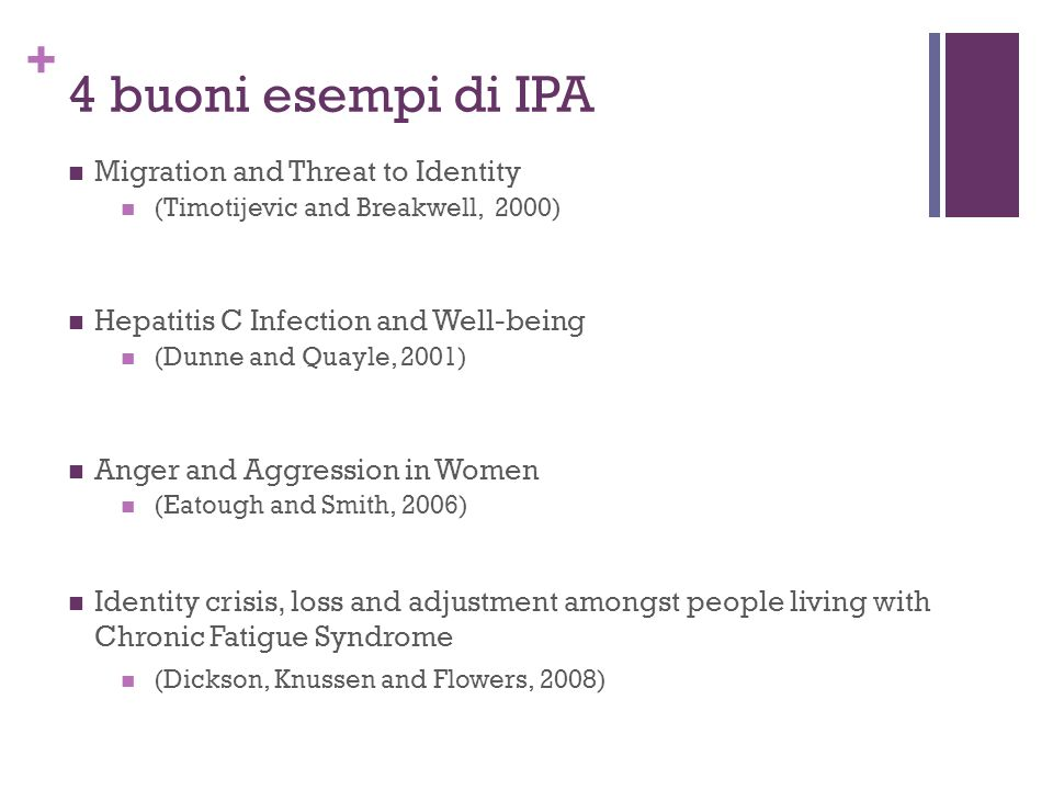 4 buoni esempi di IPA Migration and Threat to Identity