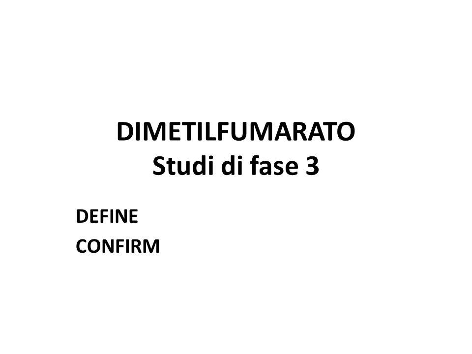 DIMETILFUMARATO Studi di fase 3
