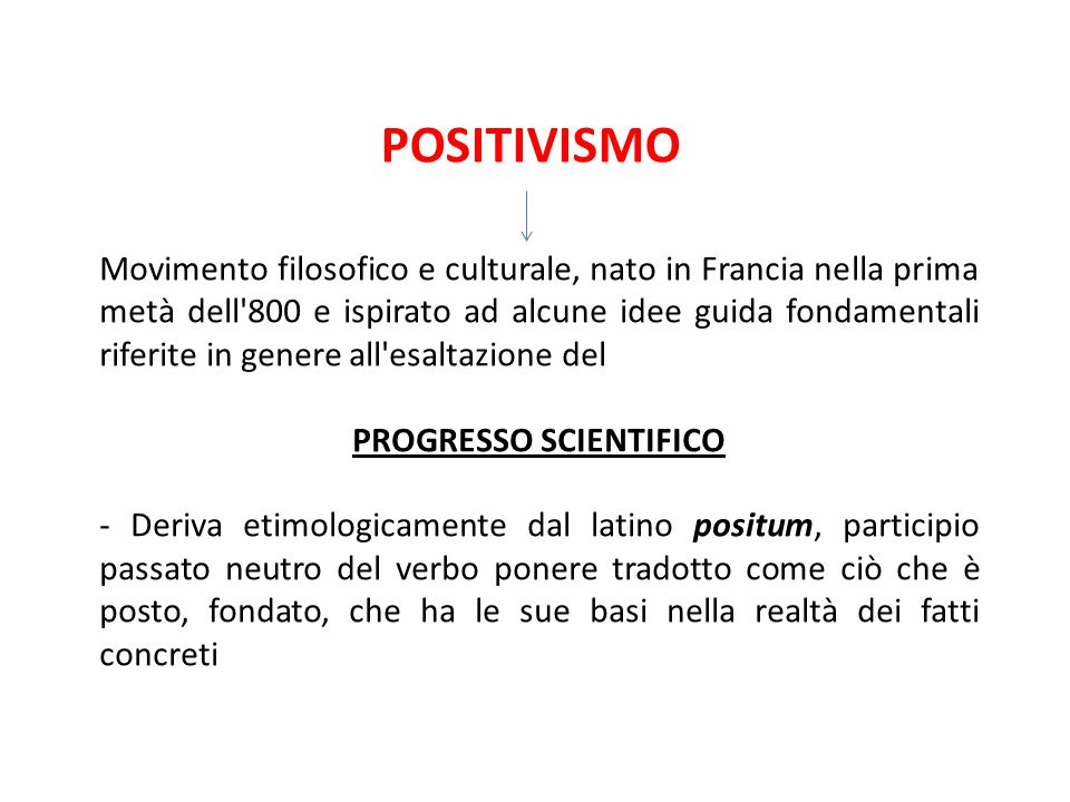 PROGRESSO SCIENTIFICO
