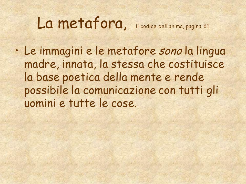 La metafora, il codice dell'anima, pagina 61