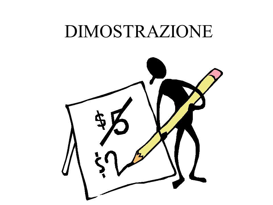 DIMOSTRAZIONE