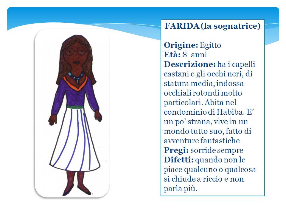 FARIDA (la sognatrice)