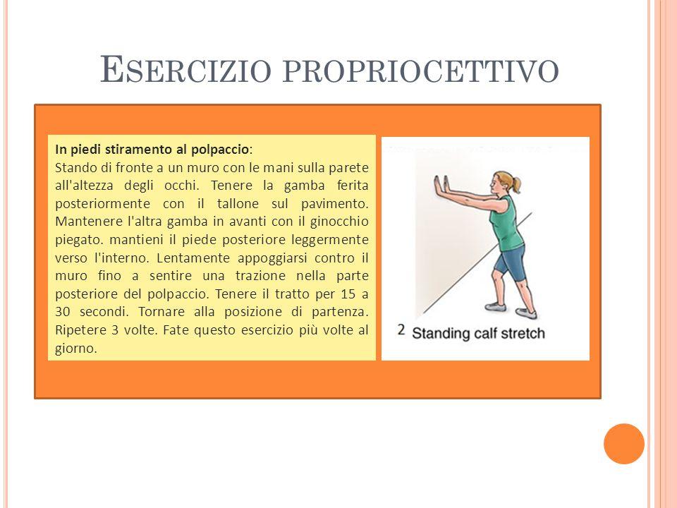 Esercizio propriocettivo
