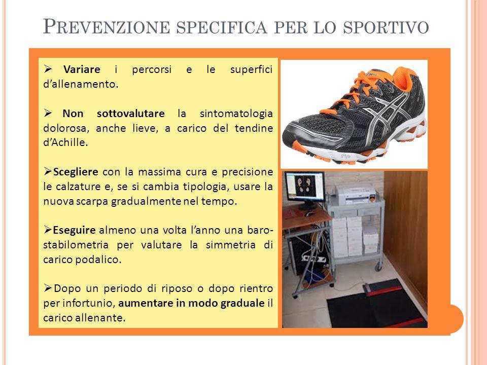 Prevenzione specifica per lo sportivo