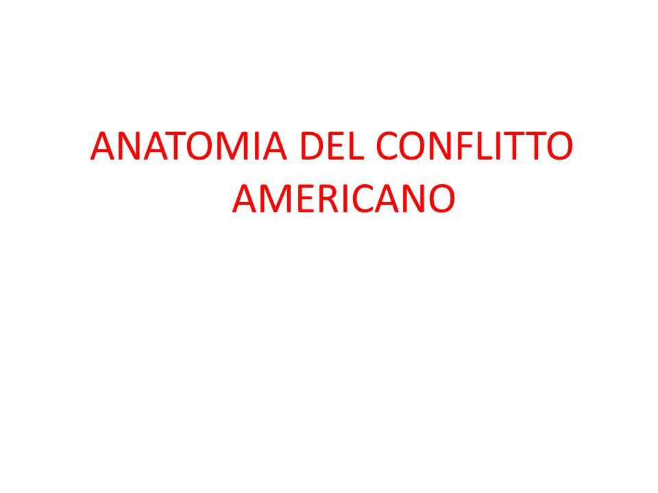 ANATOMIA DEL CONFLITTO AMERICANO