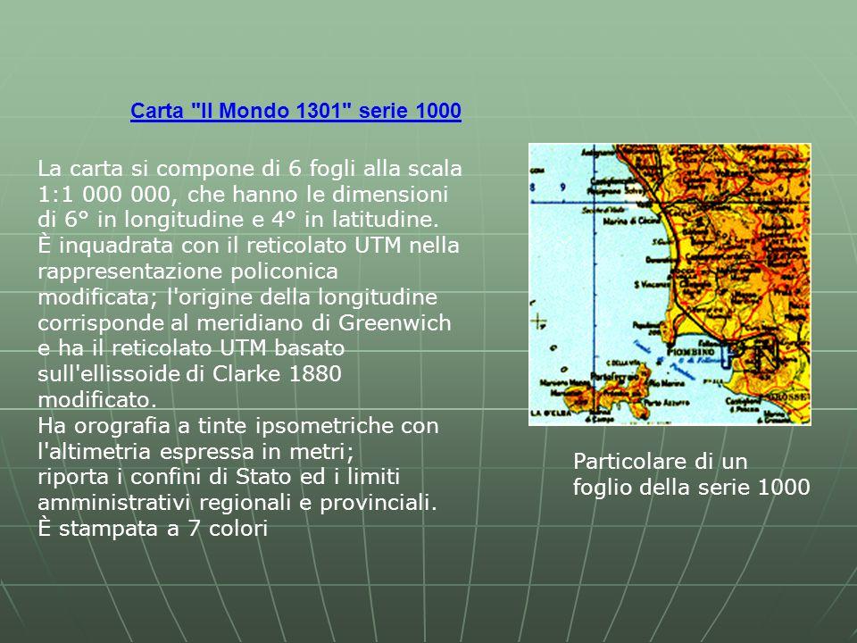 Carta Il Mondo 1301 serie 1000