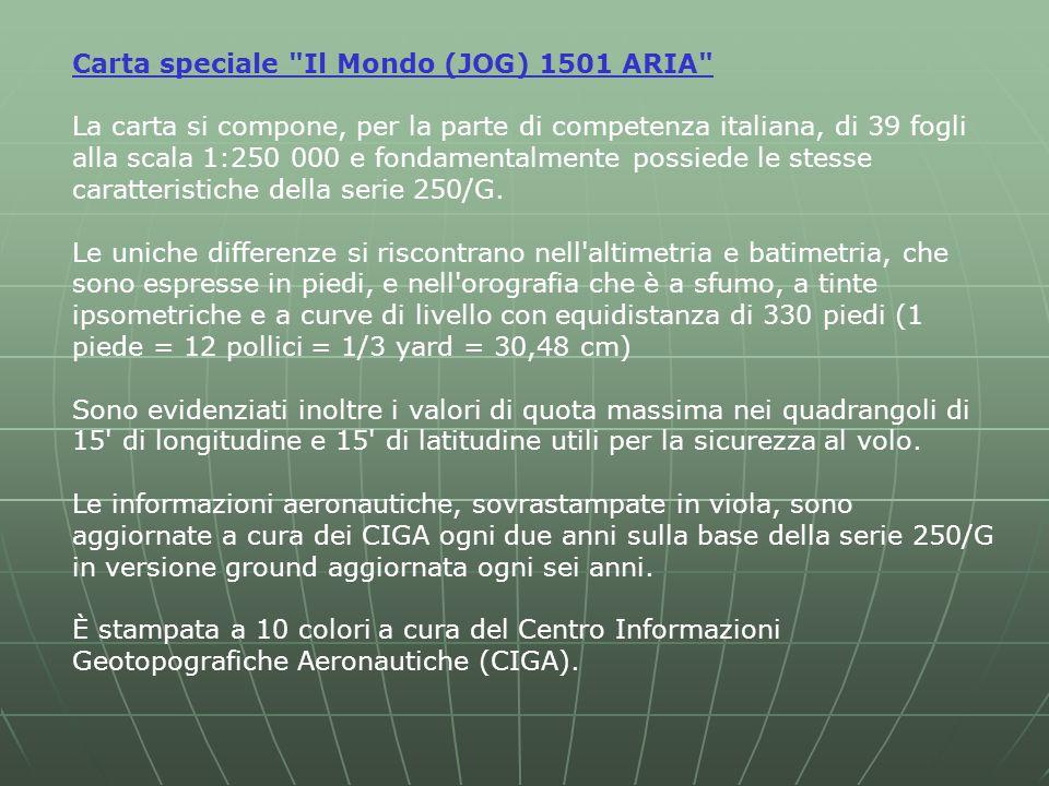 Carta speciale Il Mondo (JOG) 1501 ARIA