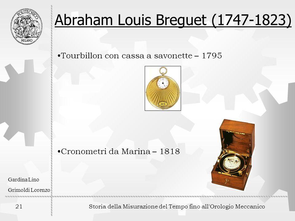 Abraham Louis Breguet (1747-1823)