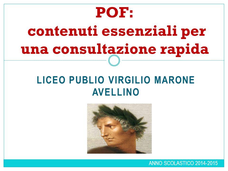 POF: contenuti essenziali per una consultazione rapida